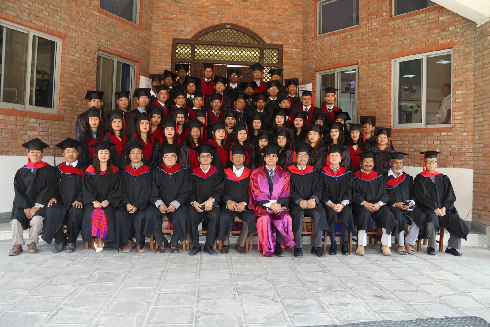 Nepal Graduation group photo