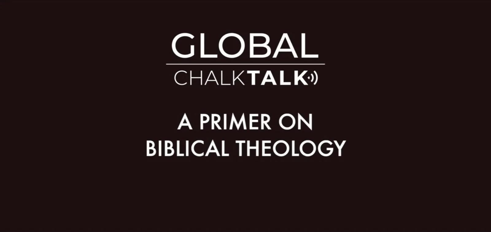 Primer of Biblical Theology